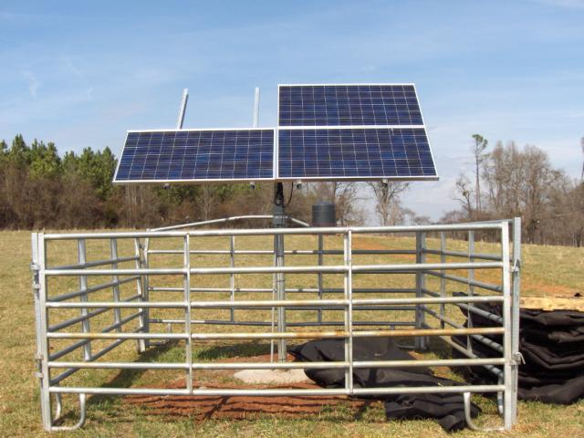 Innovative Projects Solar Powered Well Pump And Gravity